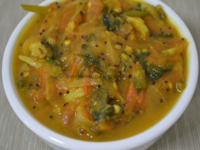 Tomato - Fenugreek Leaves Curry